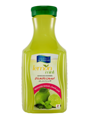 Lemon Mint (Reduced Sugar)