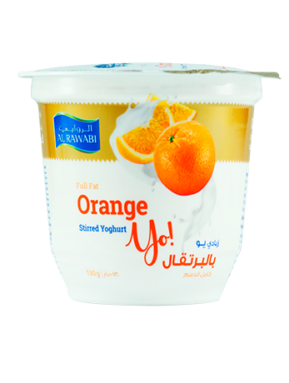 Orange Fruit Yoghurt