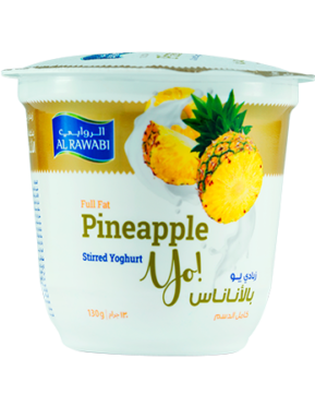Pineapple Fruit Yoghurt