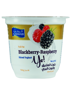 Blackberry & Raspberry Fruit Yoghurt