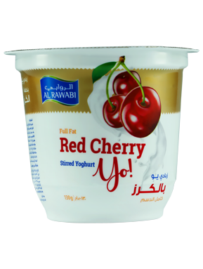 Red Cherry Fruit Yoghurt