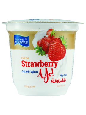 Strawberry Fruit Yoghurt