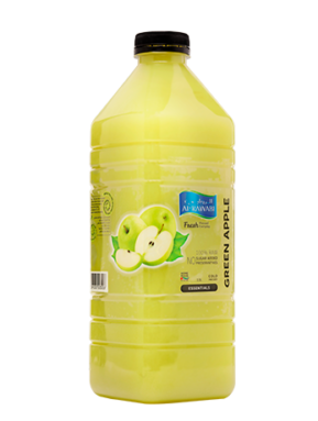 Freshly Squeezed Green Apple Drink