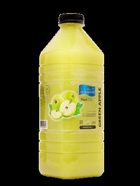 عصير التفاح الأخضر الطبيعي