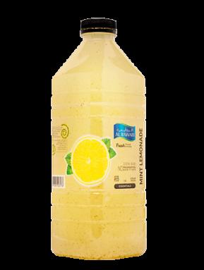 عصير الليمون والنعنع الطبيعي