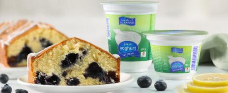 Lemon Berry Yogurt Cake