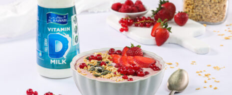 A Mixed Smoothie Bowl